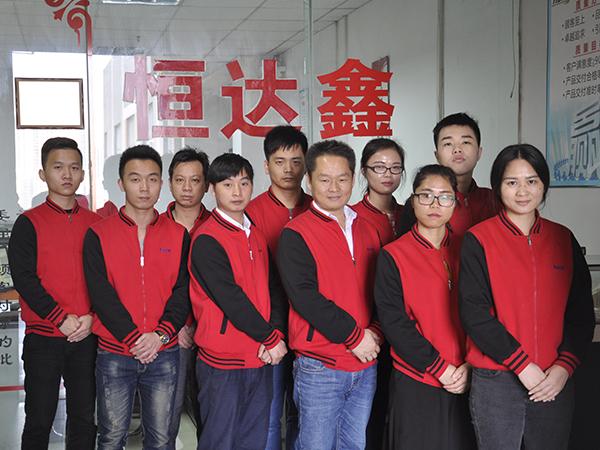 HDX team took a group photo