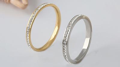 Stainless steel jewelry custom flow