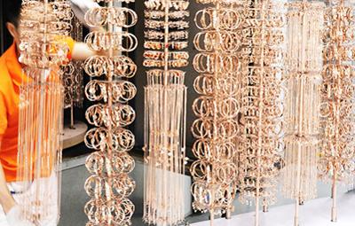 China Hengda Xin Fashion Jewelry Factory Process
