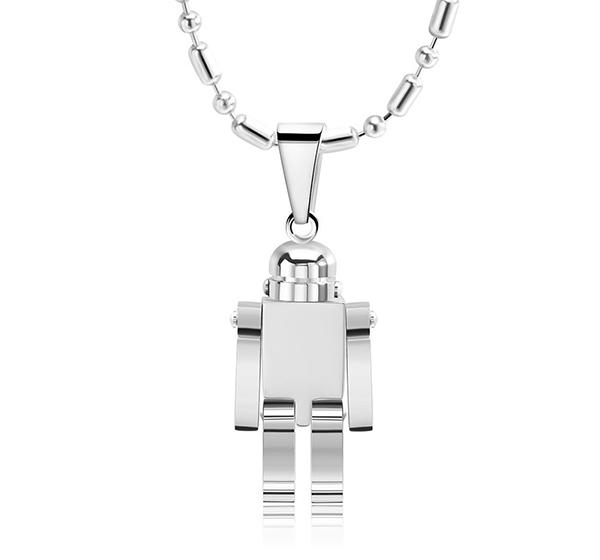 Steel pendant sample