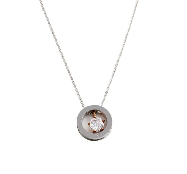 Steel necklace sample