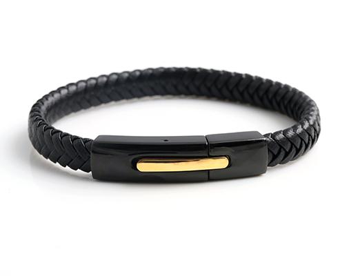 Steel bracelet sample