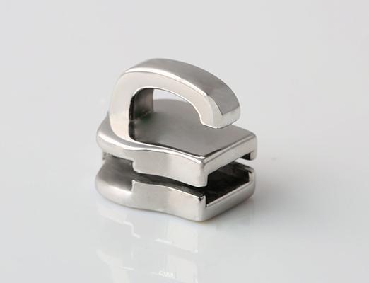 Stainless steel zipper head