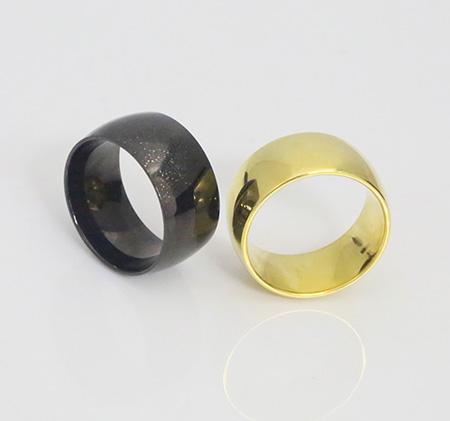 Couple models titanium steel ring