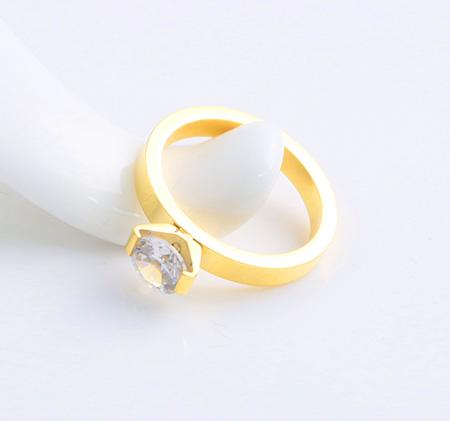 Fashion Crown Diamond Ring