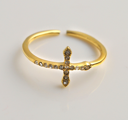 New style cross ring