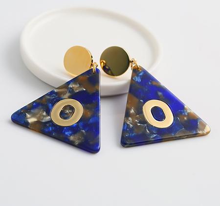 Fashion triangle earrings