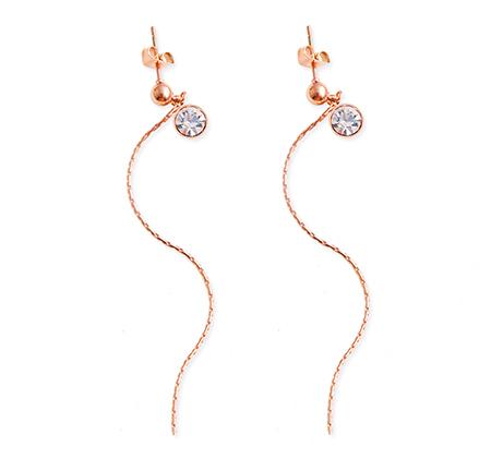 Earring chain customization